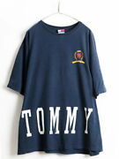 90's Made In Usa Large Size Xxl Both Sides Big Logo Print _47404