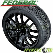 Federal Ss595 185/60r13 80h Bsw All Season Uhp High Performance Tires