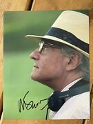 Martin Scorsese Hand Signed 10x8 Photo. Goodfellas. Departed. Taxi Driver. Rare.