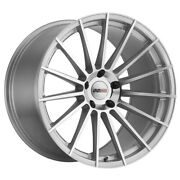 Cray Mako Rim 20x9 5x120 Offset 38 Silver With Mirror Cut Face Quantity Of 4