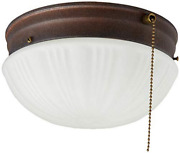 2-light Flush Mount Ceiling Fixture Sienna Interior With Pull Chain Home Decor