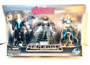 Marvel Legends Agents Of Shield 3 Pack Agent Coulson Nick Fury Maria Hill