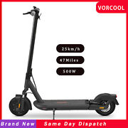 E- Scooter Long Range 47 Miles Folding Pneumatic Tires Scooter 500w