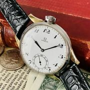 Oh Already Luxury Watches Omega 17 Stones Hand-wound Wristwatch Antique Mens