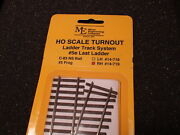 Micro- Engineering 14-719 Ho Ladder Track System Turnout Rh 5e Code 83