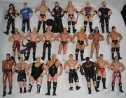 Wwe Wwf Wrestlemania Undertakers Matches Vintage Action Figures Lot New Ring
