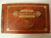 Disney Cruise Line Dcl Captainand039s Log Members Journey + Pen Retired