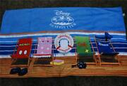 Disney Cruise Line Dcl Dvc Disney Vacation Club Towel Rare Retired Prize