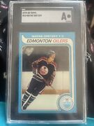 1979-80 Topps 18 Wayne Gretzky Rookie Graded Authentic A