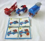 Lego System 112 316 322 Train Loco Tractor Tow-truck - Vintage 60s