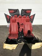 Bmw F30 Red Seats And Door Cards Rugs Lci F30 335i 328i Interior M Sport Package