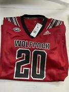 Adidas Nc State Wolfpack Alternate Premier Strategy Football Jersey Ft1563 Xl