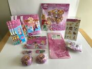 Disney Princess Party Supplies Lot New Factory Sealed Items