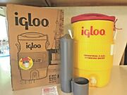 Igloo Industrial 5 Gallon Drinking Water Cooler W/cup Dispenser New In Box