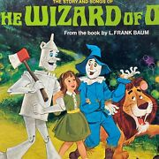 Sealed Vintage Walt Disney Frank Baum The Story And Songs Of The Wizard Of Oz Lp