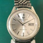 Seiko Sportsmatic 5 7619-7040 Day-date Automatic Silver Dial Watch