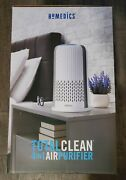 Homedics Totalclean 4-in-1 Air Purifier White Free Shipping - New