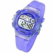 Secondhand Imported Goods Kids Digital Watches Girls Boys 50m 5atm Waterproofing