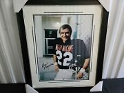 Burt Reynolds Autographed Mean Machine Signed 16x20 Framed Beckett Authenticated