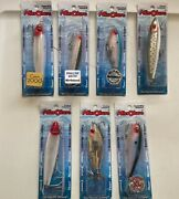 Mirrolure Fishing Lures Brand New In Box Lot Of Seven Lures