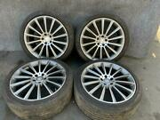 Mercedes W222 S550 S450 S560 Amg Wheel Wheels Tire Tire Staggered Set 20 Oem