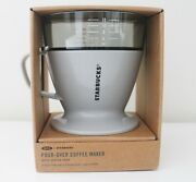 Starbucks + Oxo Single Serve Pour-over Coffee Maker With Water Tank New