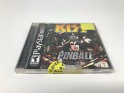Sony Playstation 1 Ps1 Kiss Pinball Vg Complete Tested Rare