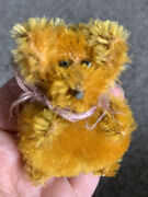 Rare Schuco Germany Perfume Atomizer Bear 3andrdquo Excellent Mohair 1920s 30s Look