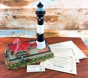 Harbour Lights Lighthouse 448 Fire Island Ny Vintage Nautical 2003 Collectible