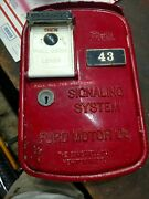 Ford Motor Company / Gamewell Fire Alarm / Call Box / Pull Station