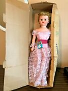 Vtg Deluxe Reading Sweet Rosemary Doll In Orig Box 30 Inches Tall 1200 Pearls