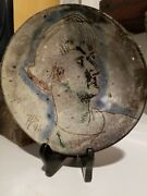 Henry Varnum Poor Artist Studio Pottery Plate Extremely Rare And Beautiful 1946