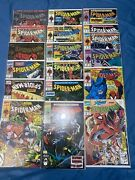 Mcfarlane Spiderman Lot 1 - 16 1990's Silver, Green Lot Of 18 Issues Vf/nm Todd
