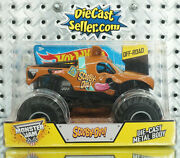 Hot Wheels 124 Monster Jam Scooby Doo Truck 2015 Off-road Collectible New Rare