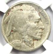 1918/7-d Buffalo Nickel 5c - Ngc Fine Details - Rare Overdate Variety Coin