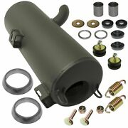 New Exhaust Muffler Silencer And Kit For Polaris Sportsman 800 Efi 2007 W/donuts