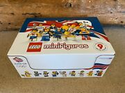 Lego 8909 Team Gb 2012 Olympic Minifigures Complete Rare And Sealed Box