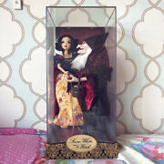 Disney Designer Doll Collection Snow White And Hag Witch Limited Edition Fairytale