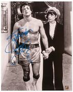 Sylvester Stallone Signed 16 X 20 Rocky Photo