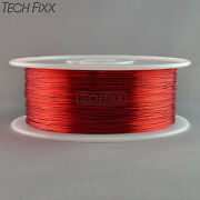 Magnet Wire 22 Gauge Awg Enameled Copper 1750 Feet Coil Winding 155°c Red
