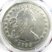 1795 Draped Bust Silver Dollar 1 Small Eagle Coin - Certified Pcgs Vg Details
