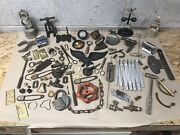 Vintage Antique Junk Drawer Mixed Lot Metal Tools Hardware And More