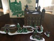 Department 56 Tower Of London Heritage Collection Dickens Village Boxed 5 Pieces