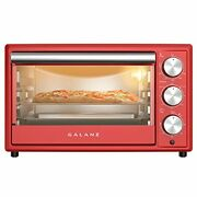 Galanz Grh1209rdrm151 Large 6-slice True Convection Toaster Oven,retro Red