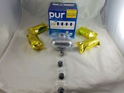 Pur Water Filtration System +4 Filters Fm-9500b Rf-9999 Water Filter One Year