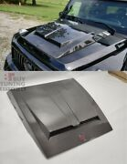 Carbon Hood Scoop With Badge For Mercedes-benz G-wagon W463 New Style W463a New