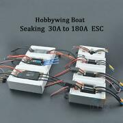 Rc Boat Seaking Esc 30a 60a 120a 130a 180a Brushless Speed Controller Waterproof