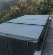 Used Endless Pool Swim Spa Solid Foam Cover 8' X 15' Local Pickup Only. Fair.