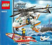 Lego City Coast Guard Helicopter 60013 Instruction Book Only No Bricks Or Figs