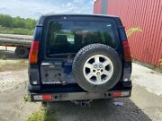 2003 Land Rover Discovery Tailgate Blue W/ Wiper + Glass Oem Used